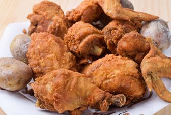 Pollo broaster La villa del pollo