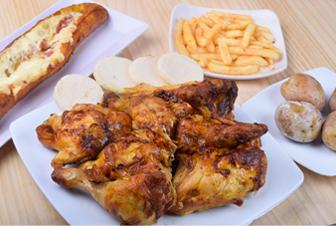 La villa del pollo Combo broaster