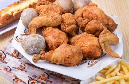 Combo pollo Broaster La Villa del Pollo