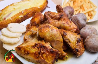 Combo Pollo asado La Villa del Pollo